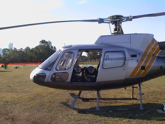 Skyworks Aussie Flag Helicopter 2002